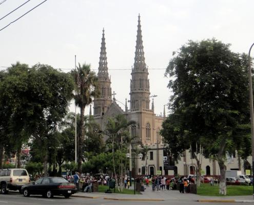 Iglesia de San José – landmark of the Jesús María district