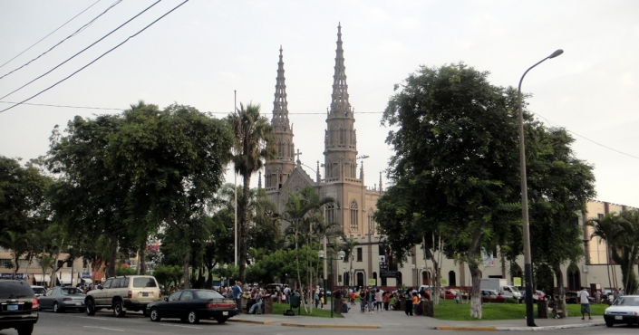 Iglesia de San José – landmark of the Jesús María district
