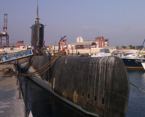 Site Museum in an unusual place: the submarine Abtao