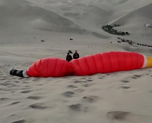 Huacachina Paragliding