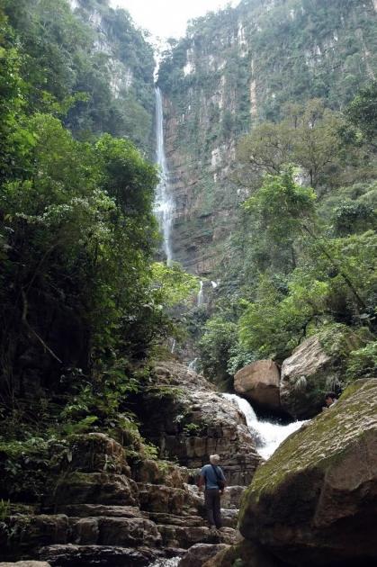 Wasserfall Koari Satipo Peru