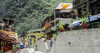 Aguas Calientes the gateway to Machu Picchu