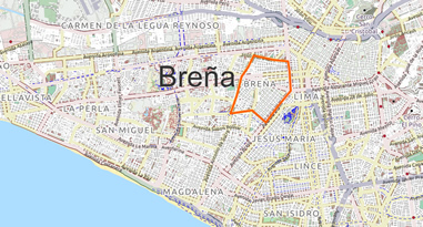 Breña Map