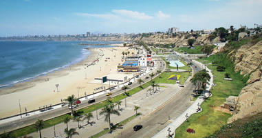 Chorrillos in Lima Peru