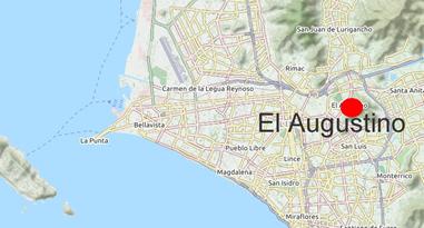 El Agustino Lima Peru Map