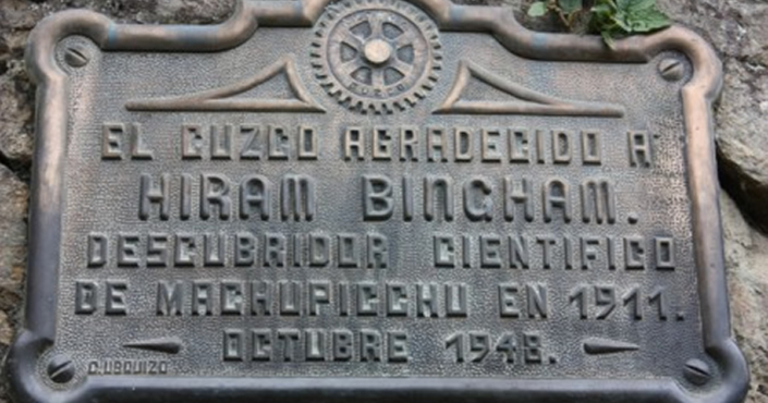 Hiram Bingham: CV of an explorer