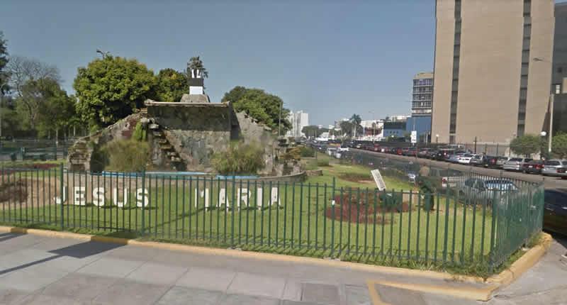 Jesús María and his popular places