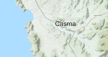 Map Casma