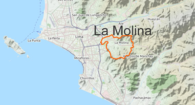 La Molina Map