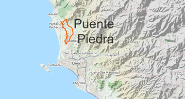 Puente Piedra Lima Peru Map