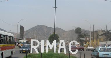 Rimac in Lima Peru