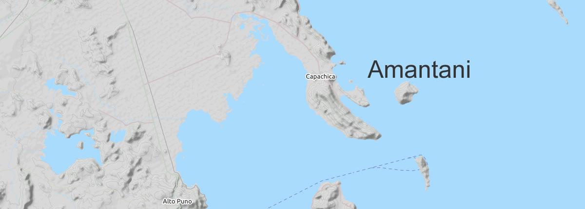 Map Amantani