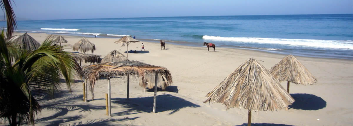 Beaches in the north of Peru