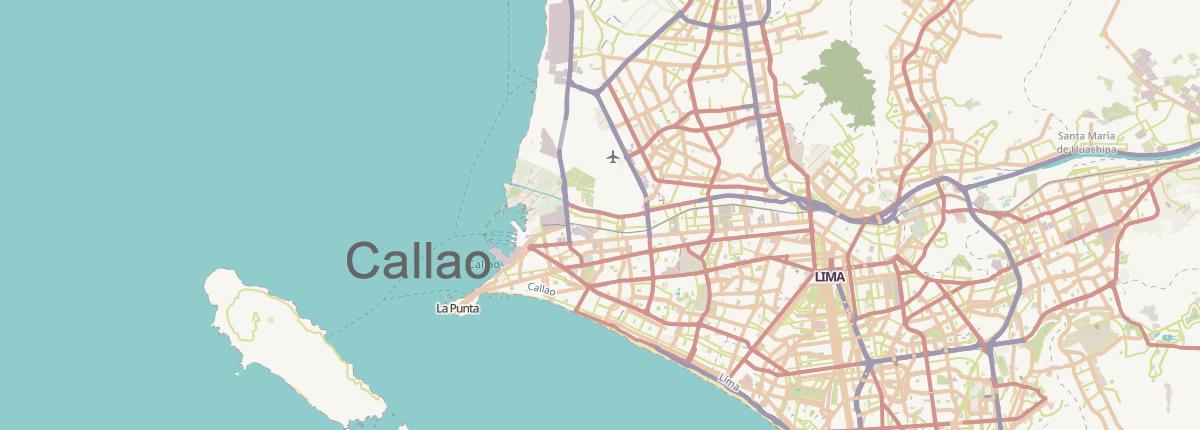 Map Callao