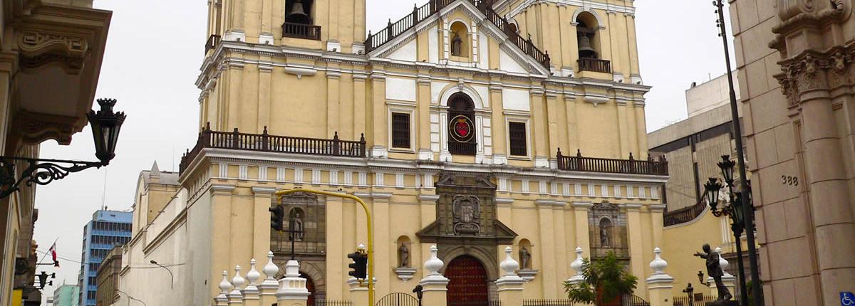 Churches in Lima Peru