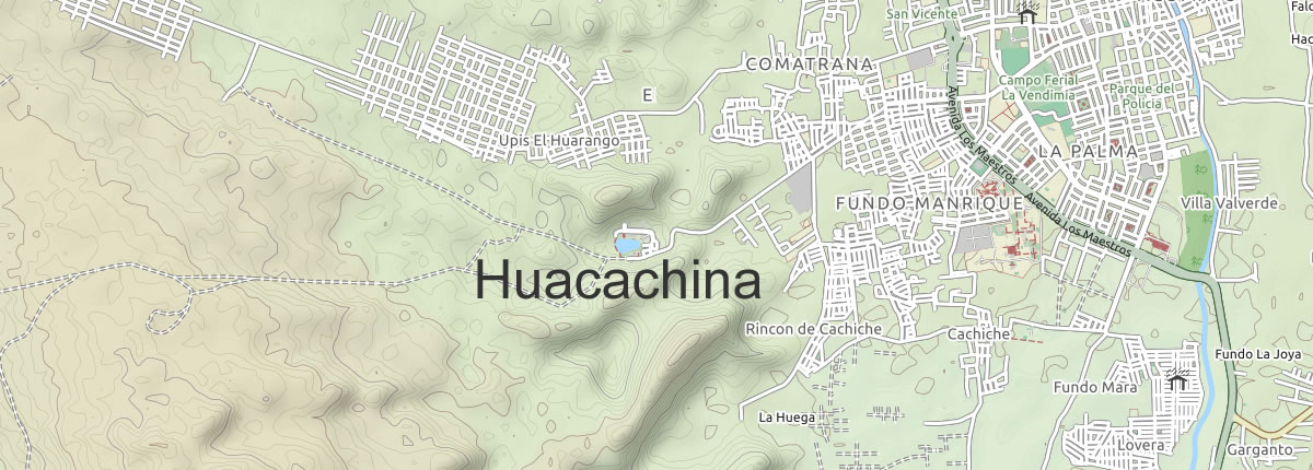 Map Huacachina