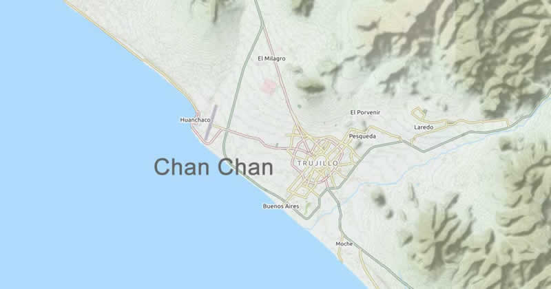 Map Chan Chan