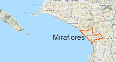 Miraflores Map