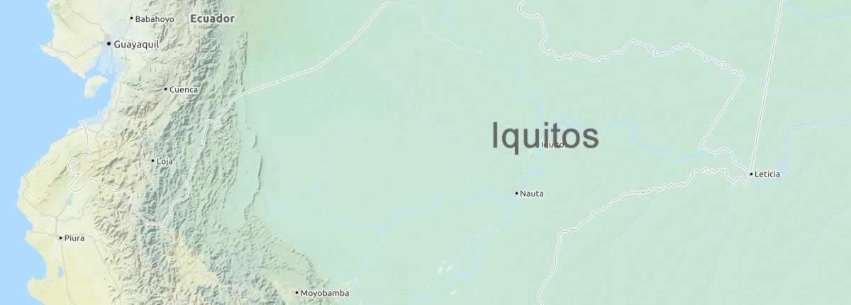 Map iquitos