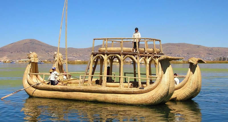 Titicaca Lake Peru