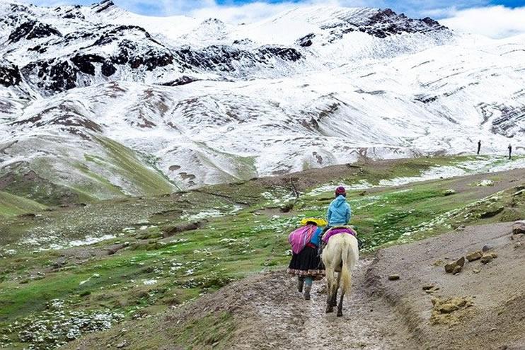 A round trip through Peru